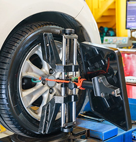 Tyre Alignment and Balancing Image