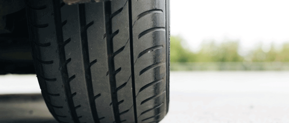 Handling of car with quality tyres