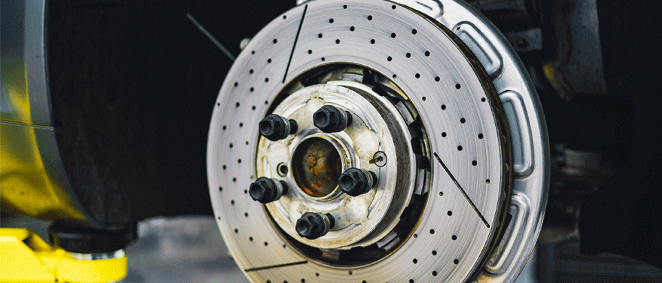 Drilled or Slotted Brake Rotors